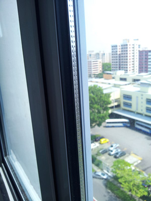 Soundproof windows vacuum strip